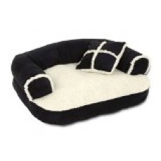 ASPEN PET 20 X 16 SOFA BED WITH PILLOW (Colors may vary)