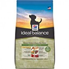 Hill's Ideal Balance Adult Natural Chicken & Brown Rice Recipe Dry Dog Food, 30-Pound Bag