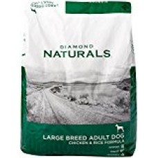 Diamond Naturals Chicken Flavor Dry Food for Adult Dogs, Large Breed 60+ Formula, 40 Pound Bag