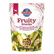 Hill's Science Diet Crunchy Fruity Snacks with Apples & Oatmeal Dog Treats, 8.8-Ounce